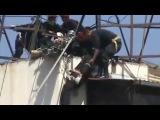 accidente desfile militar peruano, impresionante !!!! 10 Nor 2012