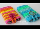 DIY Tutorial How to Crochet Easy Mobile Cell Phone Pouch Case Cover Holder for iPhone iPod Samsung