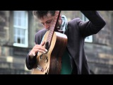 Tom Ward Busking at Edinburgh Fringe Festival