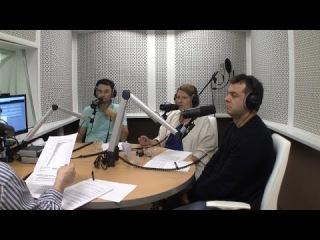 Мария Черницкая, Павел Черкашин и Андрей Яблонских в передаче