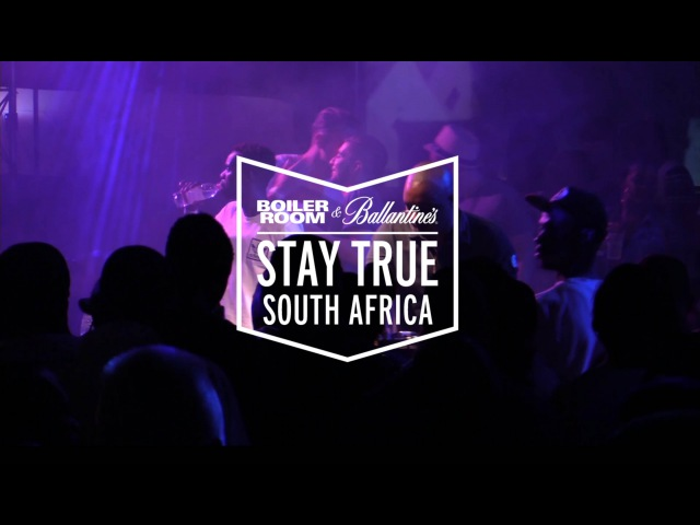 DJ Shimza Boiler Room Ballantine's Stay True South Africa DJ Set