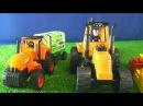 Мультик про трактора. Игрушки для детей. Мультики для мальчиков