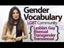 Gender Vocabulary (Talking about the LGBT community) – Free Spoken English Lesson