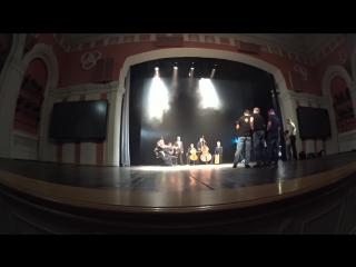 Съёмки клипа Тучи в Питере. Зазеркалье ActionCamera 5