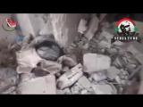 18+.Сирия.Сирийская армия устроила засаду на 70 шакалов из ИГИЛ.