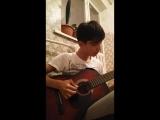 музыка из фильмов сумерки на гитара...