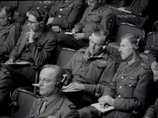 Нюрнбергский процесс над нацистами.  WW2History.RU