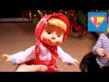 Подарок Лизе на Новый год. Кукла Маша с мульта
