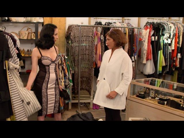 Dita Von Teese's Shopping Strategy