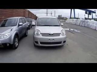 Японские аукционы автомобилей - выгрузка 4-х автомобилей