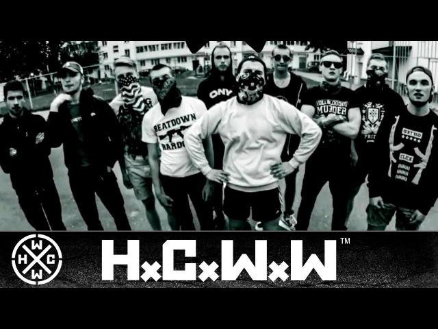 HCVP - NEGATIVE MOSH SQUAD vol.2 - HARDCORE WORLDWIDE (OFFICIAL D.I.Y. VERSION HCWW)