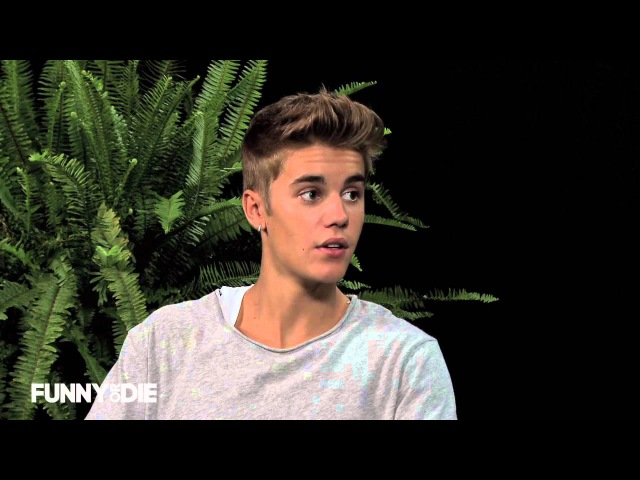 Justin Bieber Between Two Ferns with Zach Galifianakis