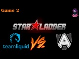 Team Liquid vs The Alliance #2 (bo3) (Ru) | SLTV 13 Lan Finals (16.01.2016) Dota 2