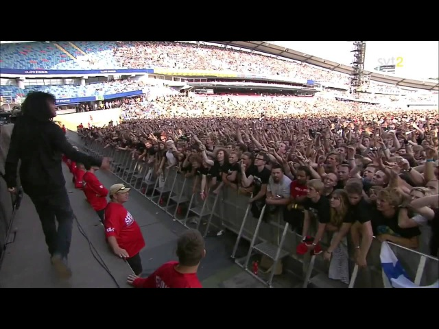 Anthrax - I Am The Law (live 2011 Sweden)