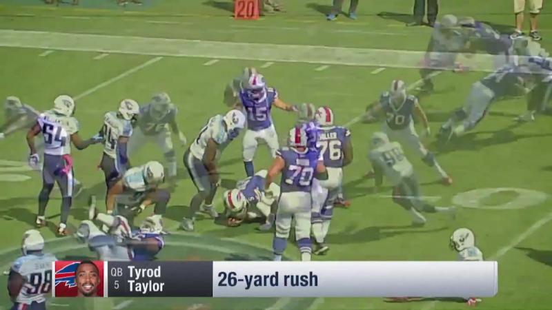 Top 5 Runs Week 5 Tyrod Taylor Thomas Rawls and MORE NFL