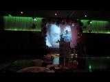 МОЙ ДР 2015. Парень просто радовал меня весь вечер)) а его Голубая луна покорила весь зал) Караоке ЕКБ!