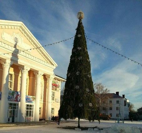 Стала известна дата открытия главной новогодней елки в Бавлах
