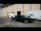 Supercharged Dodge Charger 1968 1500 H.P. Burnout