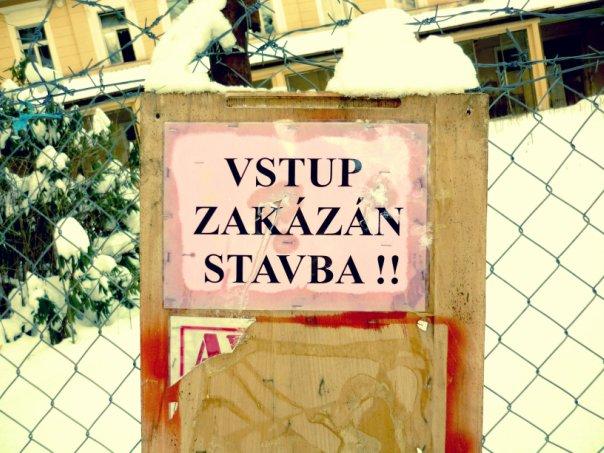 Подборка смешных чешских надписей