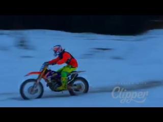 Первая снежная тренировка SSMX.ru