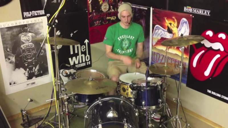 Travis Barker Style Drum Fill - Fast Simple (by Alex Ribchester)