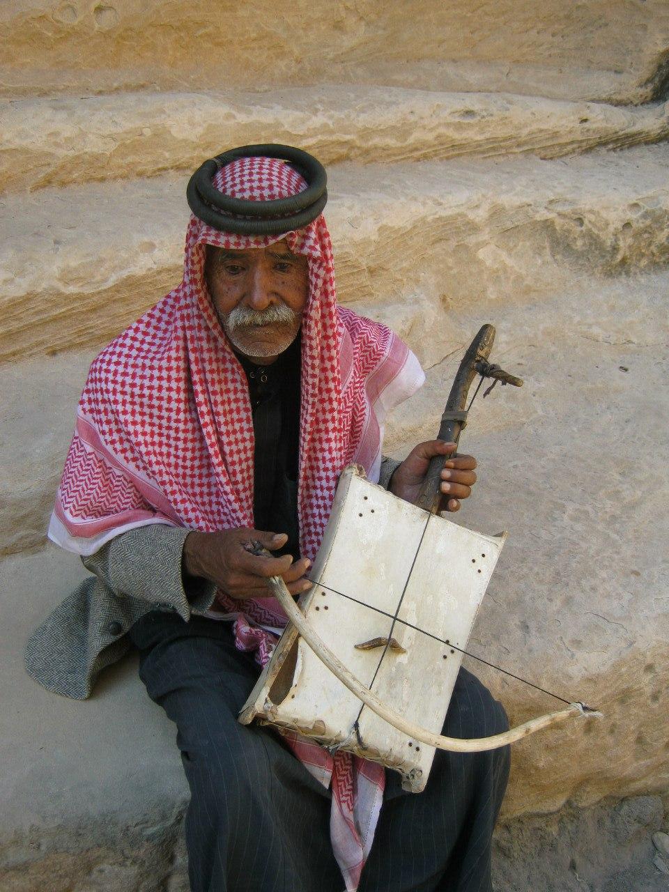 бедуин в Малой Петре