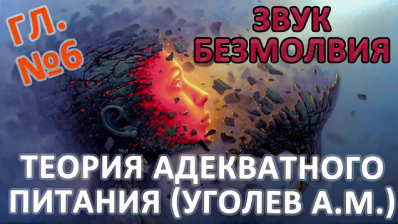 Теория адекватного питания Уголев А М глава №6 из книги Звук Безмолвия Дмитрия Лапшинова 1