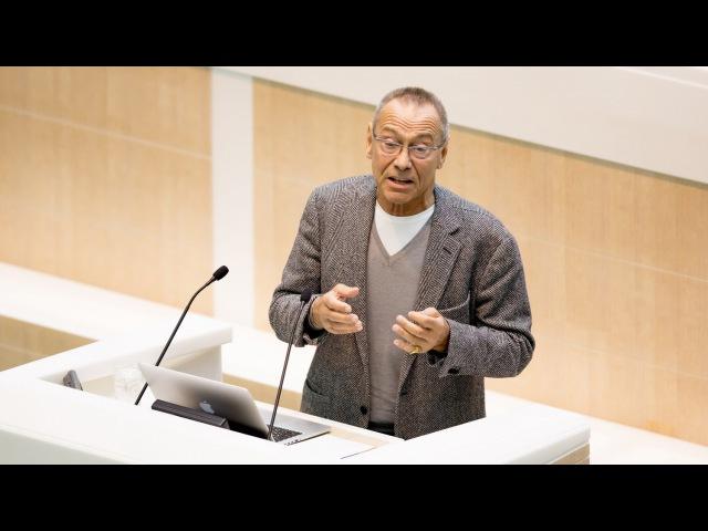 Режиссер Андрей Кончаловский выступил в Совете Федерации в рамках «Время эксперта»