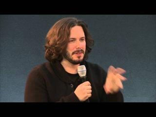 Edgar Wright Meet the Filmmaker The World's End QA Reagent Street Apple store 2013