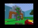 Прохождение карты Angry Birds в майнкрафт