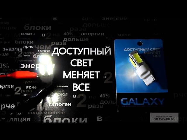 Свечение светодиода Galaxy T20 3156 7.5W