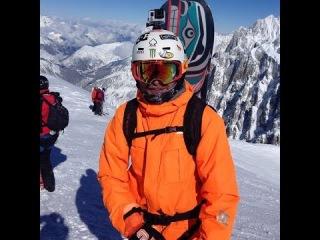Фрирайд в Белой Долине Шамони (Vallée Blanche Chamonix) GoPro HD