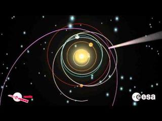Rosetta's Twelve-year Journey in Space [HD]