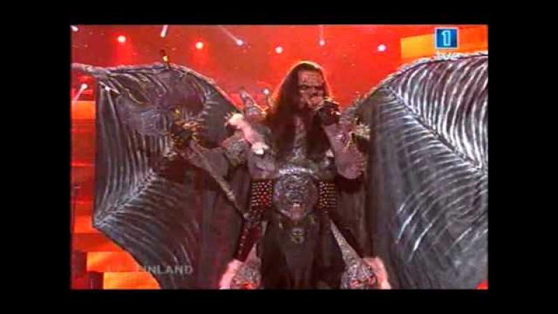 Lordi - Hard Rock Hallelujah (Eurovision 2006)