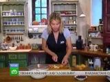 Завтрак с Юлией Высоцкой - Фруктовые блинчики на кефире