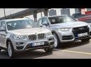 SUV - BMW X3 2017 vs. Audi Q5 2016