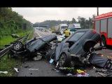 Ужасные аварии со смертельным исходом (часовая подборка)
