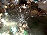 фонтанчик сделан своими руками.....радует глаз и слух....