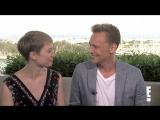 Crimson Peak Cast — SDCC 2015 Interview: «Tom Hiddleston Shows Off His Hot Butt» (E! Online)
