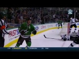 Seguin and Benn connect for nice one-timer