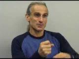 Master Yang instructing World Class Yoga Teacher Simon Borg-Olivier