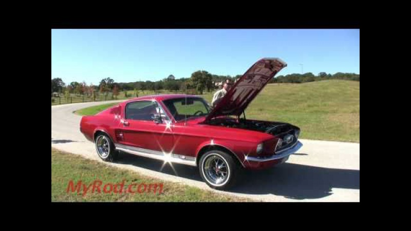 1967 Mustang GT 390 S-Code Fastback! (video 2) - MyRod.com