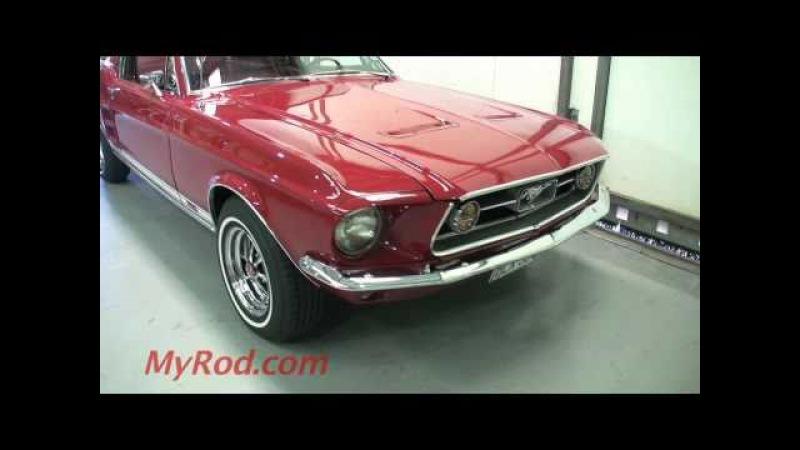 1967 Mustang GT 390 S-Code Fastback! (video 1) - MyRod.com
