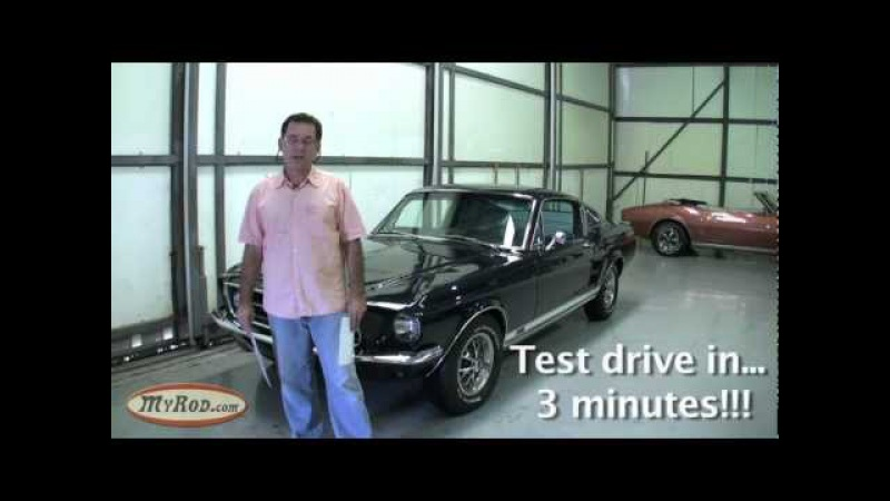 1967 Mustang GT 390 S-code Fastback Nightmist Blue - MyRod.com
