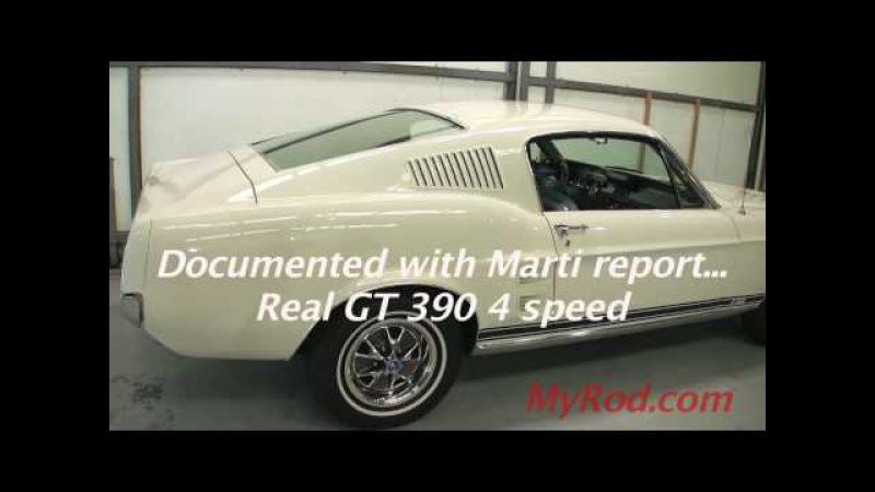 1967 Mustang Fastback GT 390 (video 2) - MyRod.com