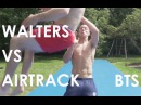 Near Miss on the Airtrack! Behind the Scenes | Damien Walters
