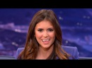 Nina Dobrev Shows How To Make The Sexy Vampire Face CONAN on TBS