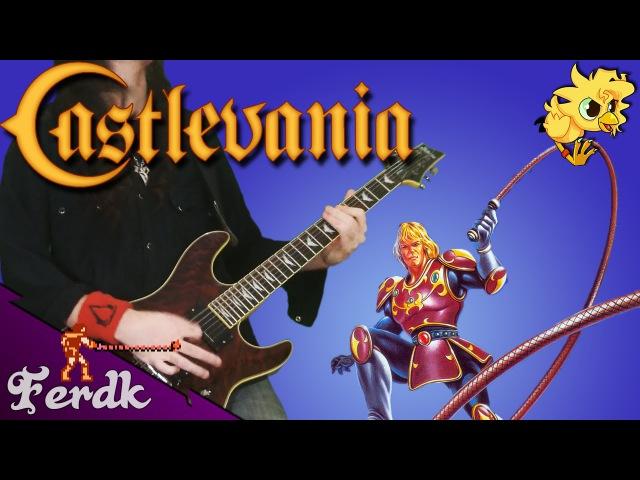 Castlevania II: Simon's Quest - Bloody Tears 【Metal Guitar Cover】 by Ferdk