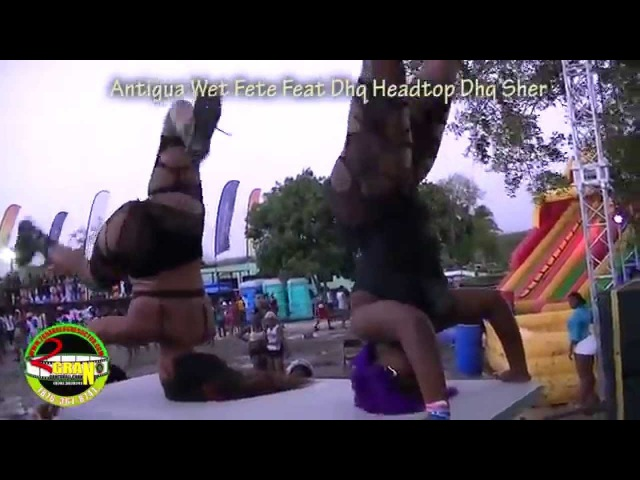 Dhq Headtop Dhq Sher New Dance Moves In Antigua Wete Fete Daylight