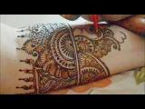 How To Make Indian Pakistani Henna Mehendi Design-Mehndi Art Tutorial/Henna Application